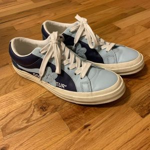 Converse One Star Ox Golf Le Fleur Barely Blue